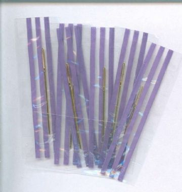 Gold Plated Cross Stitch Needles Individually Wrapped - Size 24